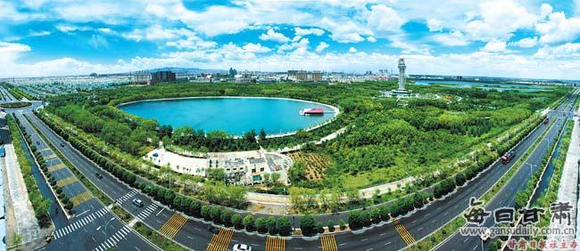 绿色理念描绘城市底色——嘉峪关市生态文明建设纪实