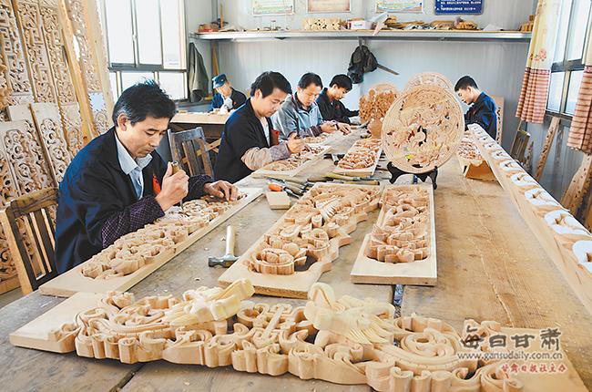 砖雕成为临夏特色产业靓丽名片
