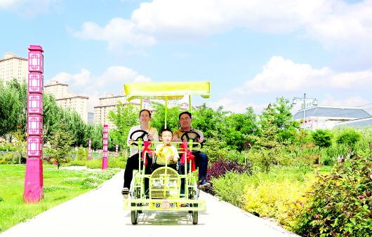 会宁县打造靓丽县城