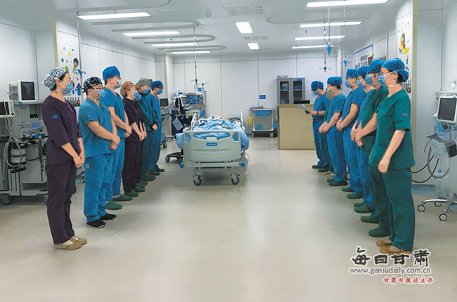 兰州:22岁小伙脑死亡捐献器官 为4名重症患者点燃重生希望