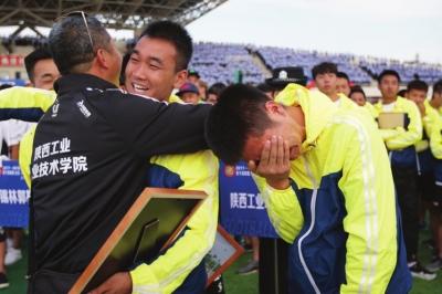 中国大学生足球联赛高职高专组北区决赛在兰落幕