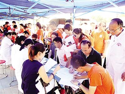 longhu国际娱乐省临床用血100%来自市民无偿献血