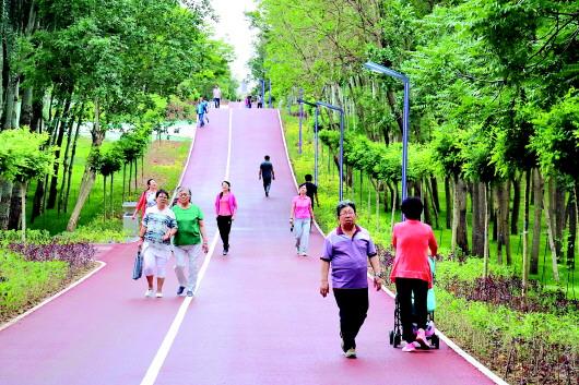 白银金岭生态健身公园提升改造