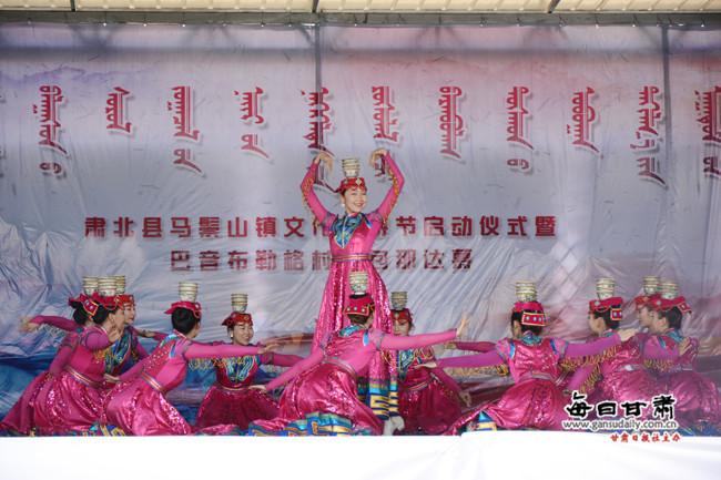 """""""丝绸之路那达慕""""肃北文化旅游节启幕"""