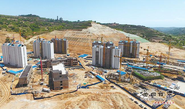 东乡县新区建设稳步推进