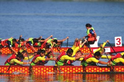 第三届全国青少年龙舟锦标赛在张掖举办