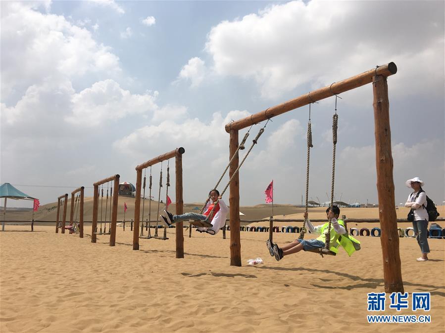 (新华全媒头条·在习近平新时代中国特色社会主义思想指引下——新时代新作为新篇章·图文互动)(11)绿富同兴画卷在沙海中铺展——库布其沙漠生态治理纪实