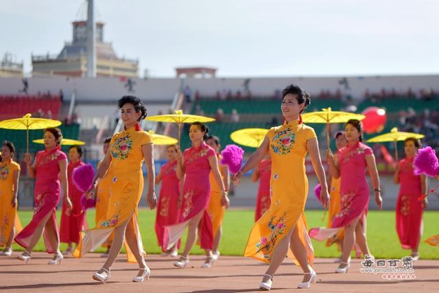 景泰县举行2018全民健身运动展示赛