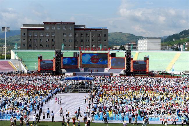 第十届陇南乞巧女儿节精彩绽放 每日甘肃网直播观看人数超160万(图)