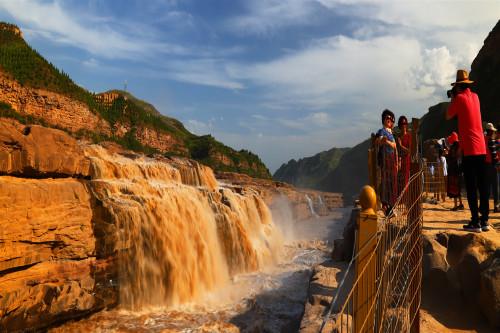 壶口瀑布风景名胜区是国家级风景名胜区;中国旅游胜地四十佳之一
