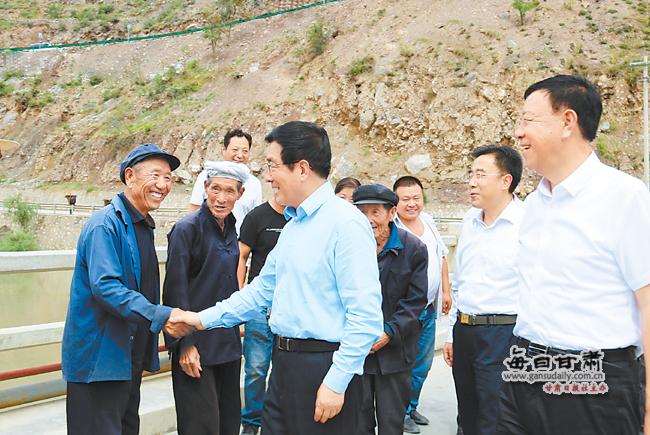 林铎在陇南甘南调研时强调 建强基层组织构建产业体系 保障群众利益加快脱贫步伐