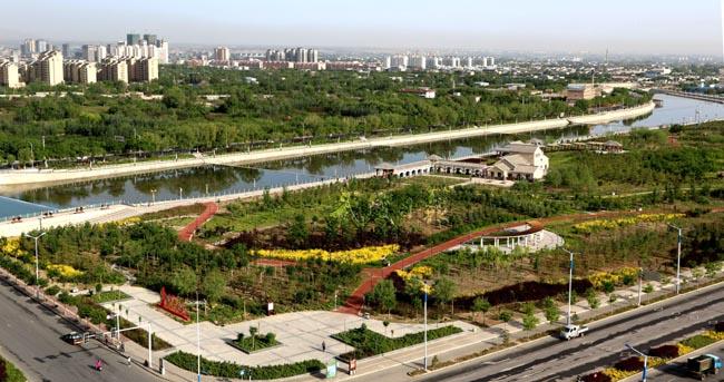 武威生态文明建设掠影