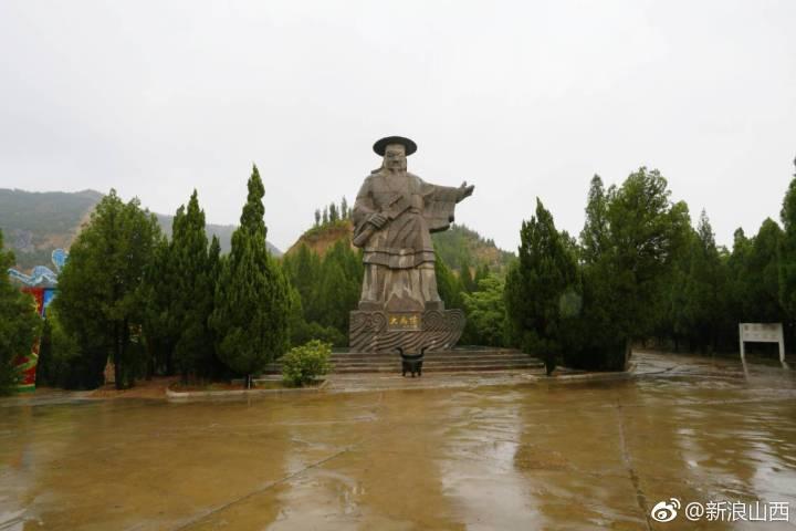 黄河流域的大禹像