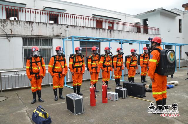 """厂坝铅锌矿矿山救护队队员紧急""""出发了""""!9月15日上午11时许,"""