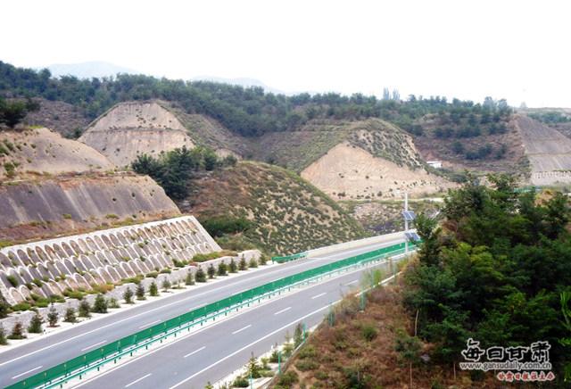 永靖县打造生态风景线