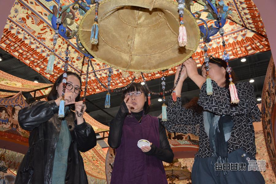 第三届丝绸之路(敦煌)国际文化博览会展览开展