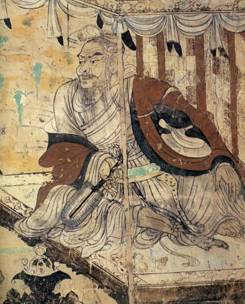 09、《维摩诘经变》/莫高窟壁画
