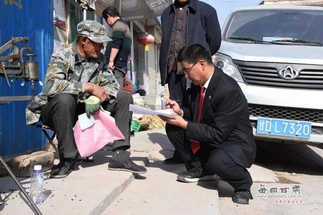 景泰法院走村入户开展禁毒集中宣传活动