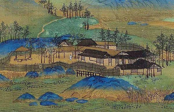 千里江山图局部