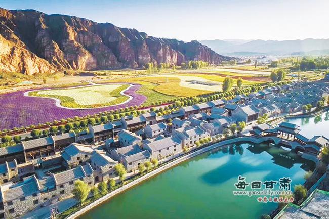 张掖丹霞口公园荣获2018中国旅游产业影响力洱海攻略小镇自驾图片