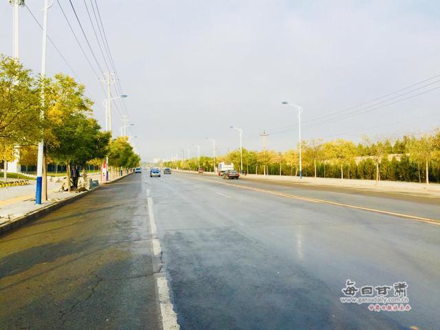 「改革开放40年」道路纵横万象新 白银区交通实现大变迁