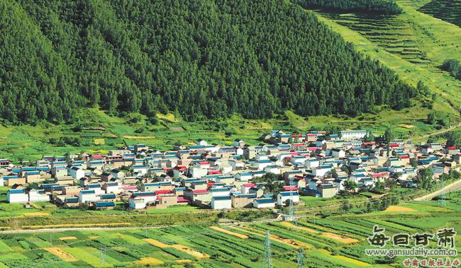 【图片新闻】岷县西寨镇站里村新貌