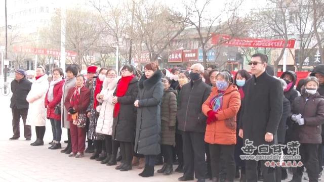 """摸清""""家底"""" 会宁县第四次全国经济普查宣传活动启动"""