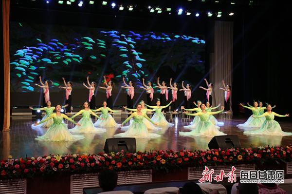 陇东学院举办2019新年音乐会