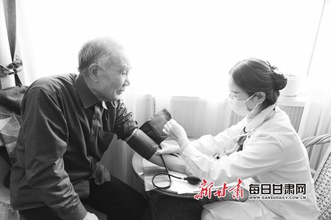 兰州城关区这些老人可免费体检一次 将惠及约10万人筛查慢病