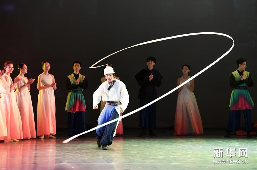 (文化)(3)大型全息舞台剧《阿里郎 大地之歌》亮相兰州