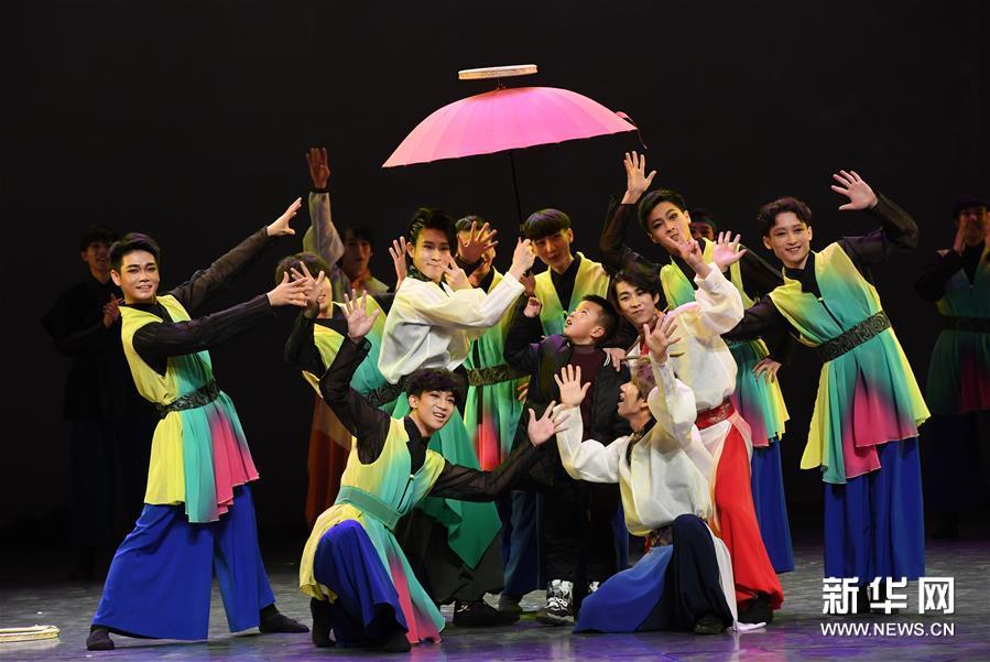 (文化)(2)大型全息舞台剧《阿里郎 大地之歌》亮相兰州