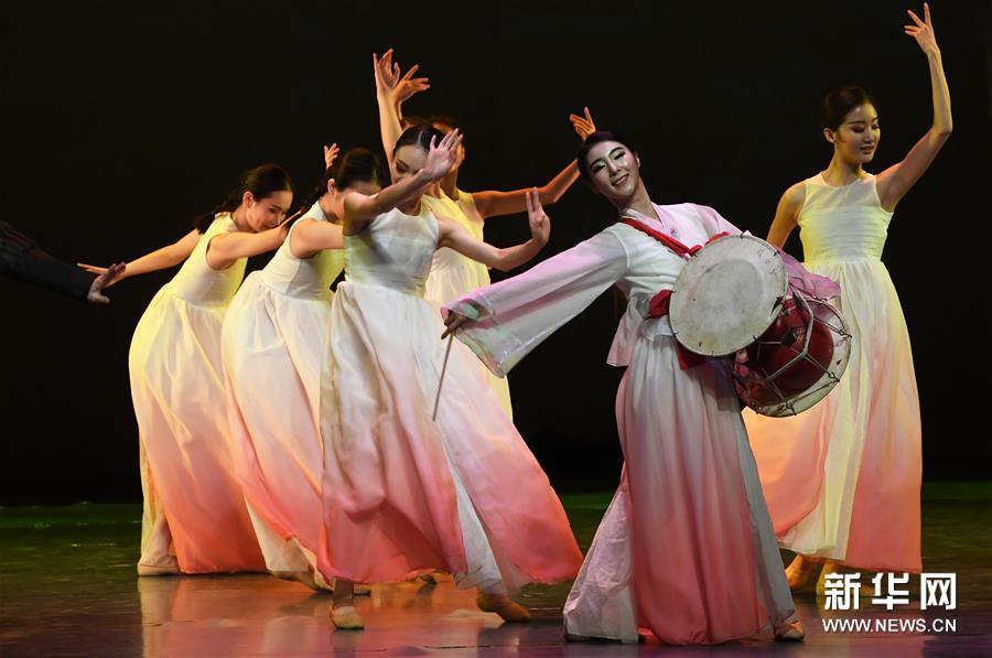 (文化)(4)大型全息舞台剧《阿里郎 大地之歌》亮相兰州