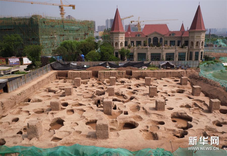 (图文互动)(1)西安马腾空遗址考古发现秦人聚落与墓地