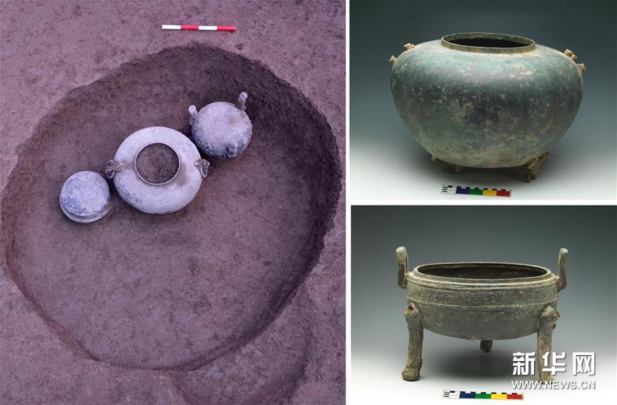 (图文互动)(4)西安马腾空遗址考古发现秦人聚落与墓地
