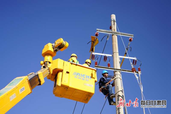国网白银供电公司全力保障春节供电