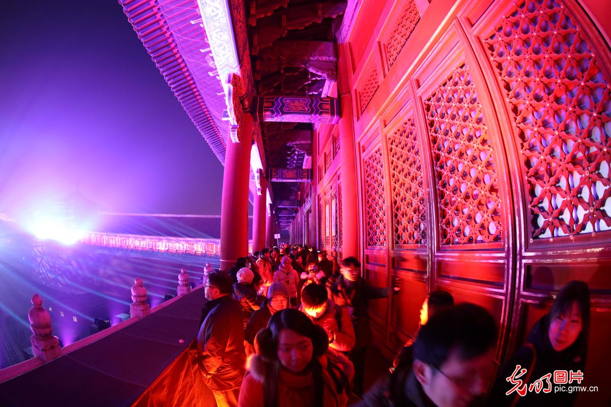 进宫赏月 故宫94年来首次晚间开放