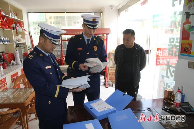 """白银靖远消防大队开展""""3.15""""消防产品专项检查"""