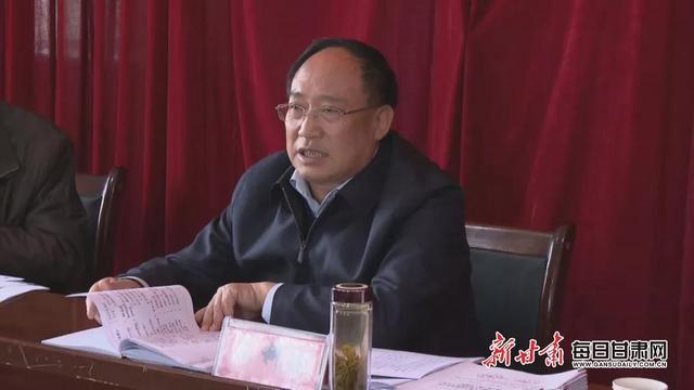 会宁县委书记王科健调研农村饮水安全 确保按期保质保量完成清零任务