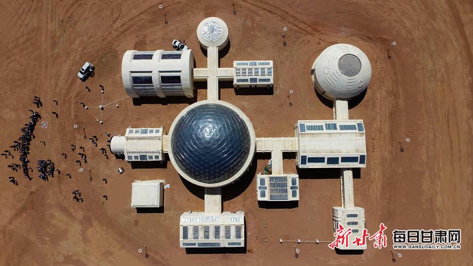 """中国首个""""真实航天逻辑""""火星生"""