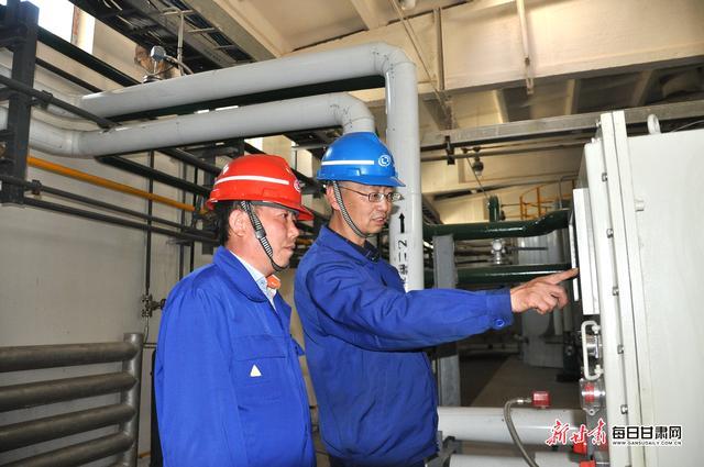 银光集团TDI分离生产线实现黑屏管理对标学习东岳集团取得重要成果