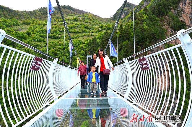 宕昌县官鹅沟大景区率先进入5G时代