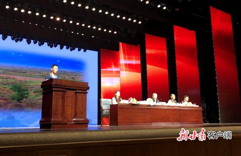 """""""时代楷模""""――古浪县八步沙林场""""六老汉""""三代人治沙..."""