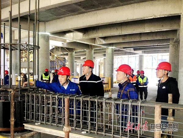防微杜渐,防患未然——甘肃三建集团第八工程公司率先展开安全生产月活动