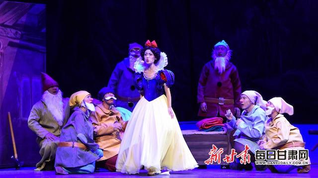 """【庆祝""""六一""""儿童节】好开心啊!《白雪公主》和我们一起过节了"""