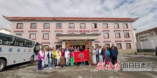 打通甘肃至川西北旅游 兰州文旅界六日考察成功
