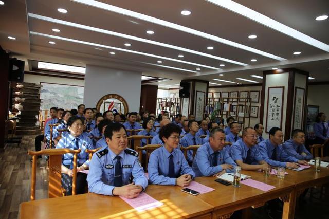 平川区检察院组织开展主题道德讲堂活动
