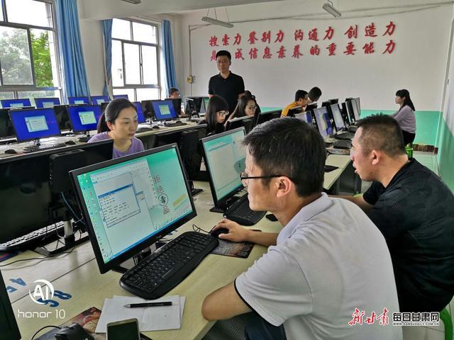天津市和平区教育系统高中组专家在靖远送教送培活动