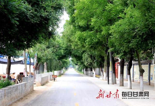 平坦整洁的通村公路.JPG