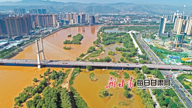 黄河水位大涨 无极4娱乐官网下载地址沿河两岸成了这样