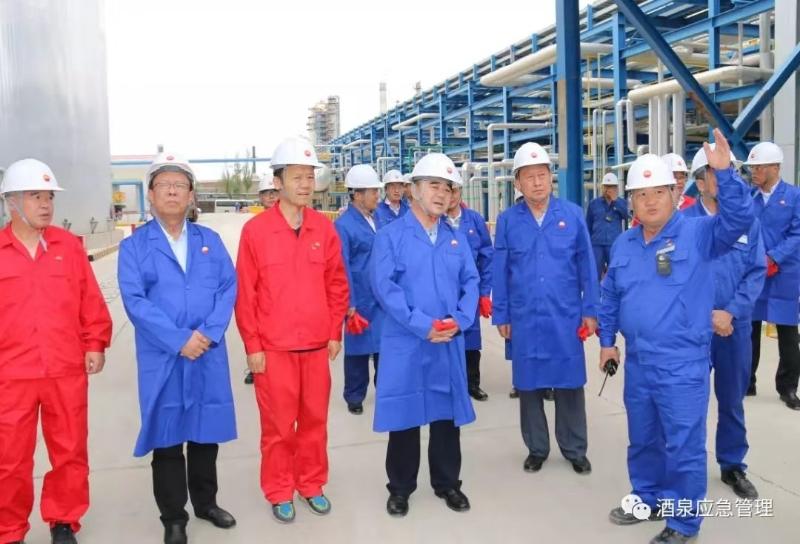 酒泉:省应急管理厅厅长黄泽元赴玉门油田公司调研检查
